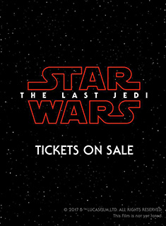 Star Wars tickets on sale now!